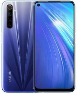 """realme 6 6,5"""" Dual Sim 4+64GB Handy 64MP Kamera Smartphone OctaCore Versión UE"""