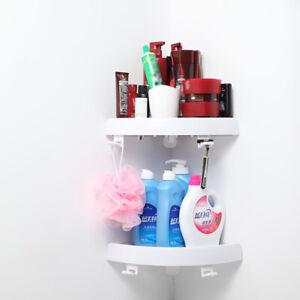 Triangular-Shower-Caddy-Shelf-Bathroom-Corner-Storage-Holder-Organizer-Rack-Tray