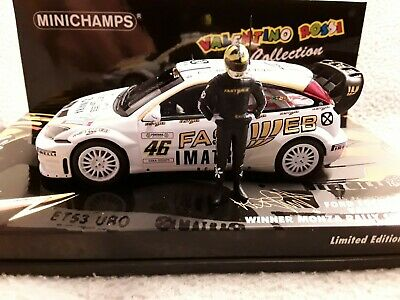 RALLY IXO DIECAST 1//43 Ford Focus WRC Rossi//Cassina 2006 Monza RallyShow eRAL044