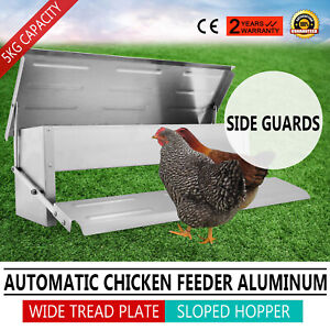 Mangiatoia-A-Pedale-Chicken-Treadle-Feeder-Per-Polli-Galline-5kg