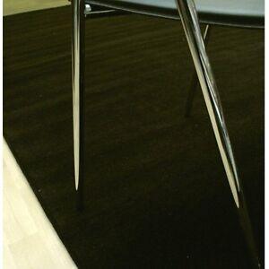 pour-Salon-Meuble-ideal-XL-ARTE-ESPINA-Tapis-uni-marron-260x390-cm-neuf