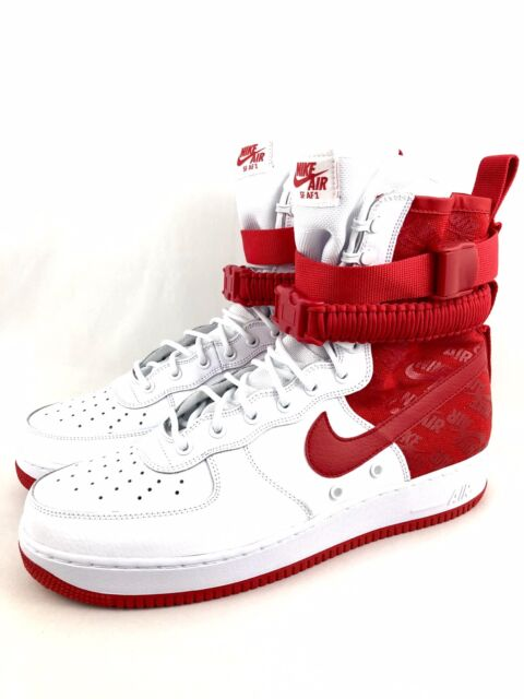 2b518a900975 Frequently bought together. Nike SF AF1 Air Force 1 Hi High Mens Size 13  Sneakerboots Shoes University Red