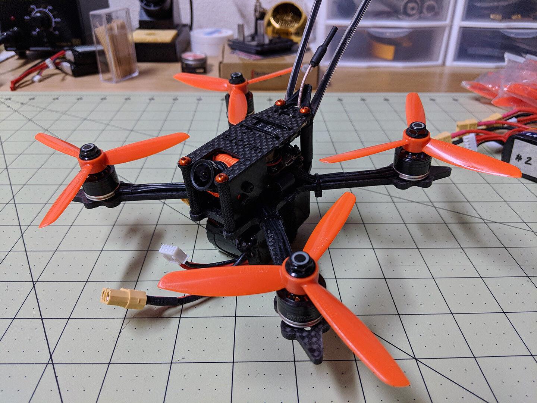 Storm Moby-X4 Custom 4  Quad Quadcopter Drone Long Kit