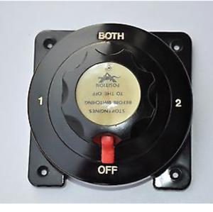 TMC Heavy Duty Marine Dual Battery Switch Isolator Boat//4X4//Caravan//Yacht