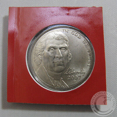 2003 D Jefferson Nickel  ~ Uncirculated Coin in the Original Mint Cello