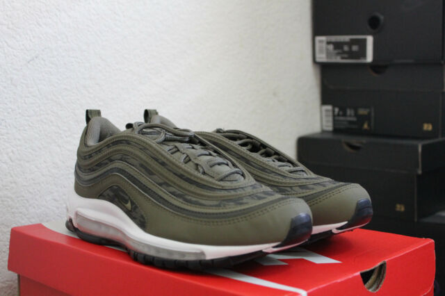 87475c18a98d NIKE AIR MAX 97 TIGER CAMO OLIVE MEN S RUNNING SHOES SIZE 8.5 NEW DS AQ4132  200