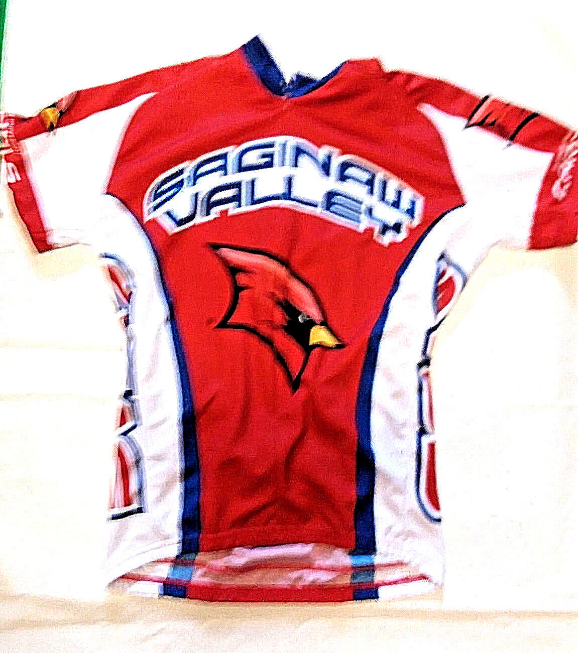Saginaw Valley State University Short Sleeve Cycling Jersey