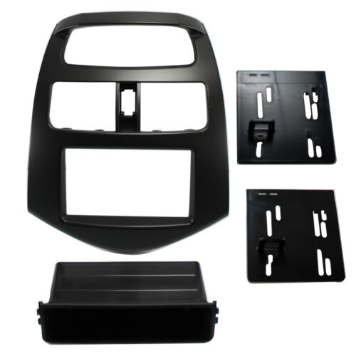 Radio Replacement Dash Mounting Installation Kit Single//Double Din for Spark