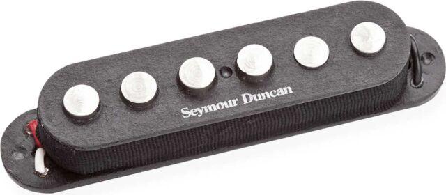 Black Seymour Duncan SSL-5 Custom Staggered 7-String Single Coil Strat Pickup
