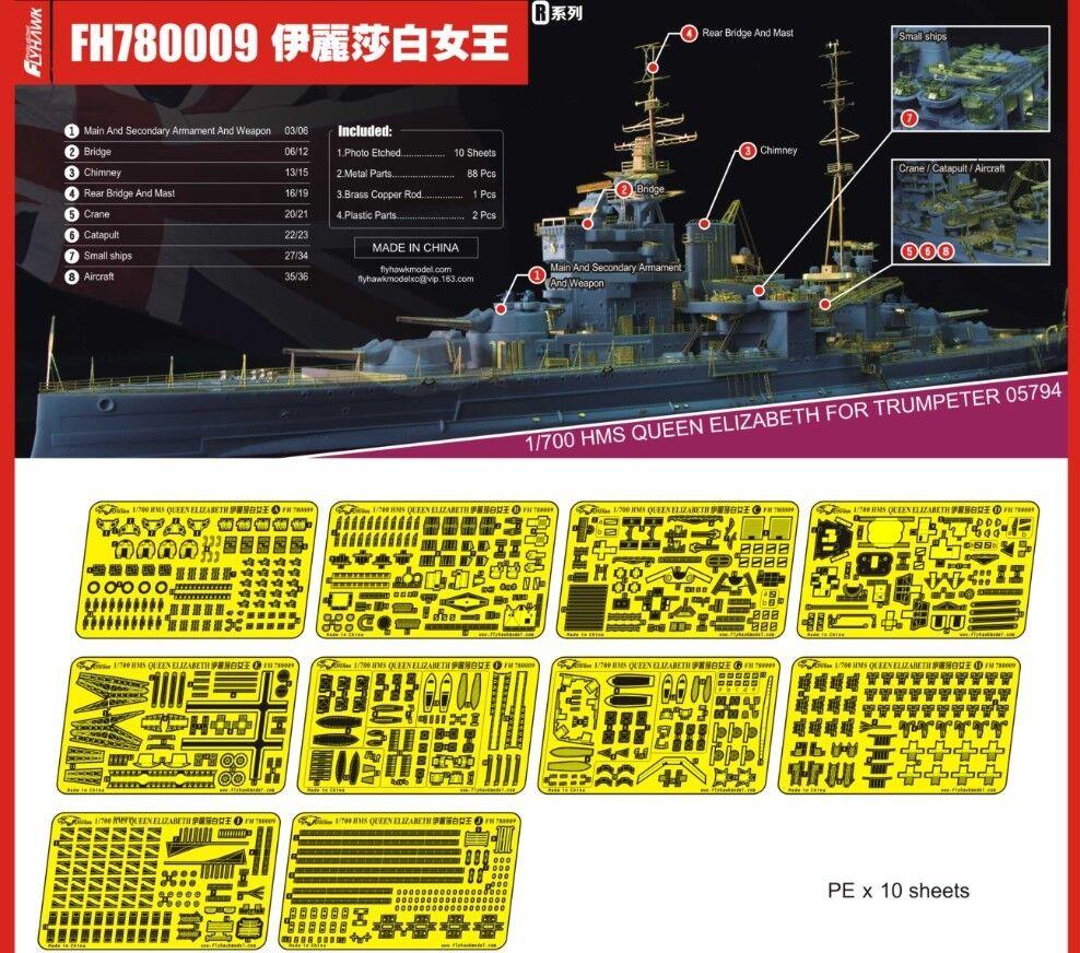 Flyhawk 1 700 780009 HMS Queen Elizabeth for Trumpeter