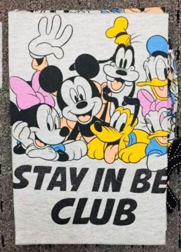 Disney Mickey Mouse /& Family Ladies Pyjama set Primark Womens T-Shirt Pajamas...