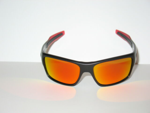 b591c99b2d 100 Authentic Oakley Turbine Prizm Sunglasses 9263-3763 Ruby Fade ...