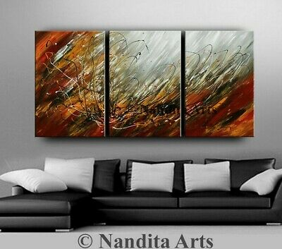 Abstract Modern Original Painting Office Artwork 72 Wall Art On Canvas Artwork Ebay