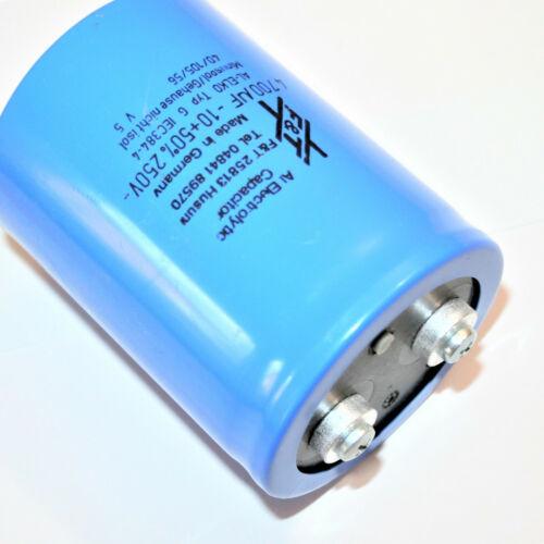 1x 4700 uF 250V F/&T Kondensator