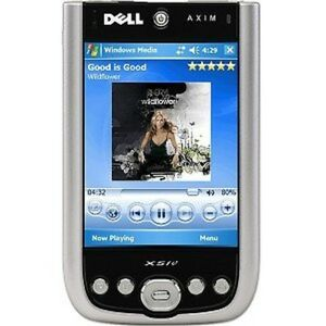Dell Axim X50V Handheld Windows Mobile 2003 SE - 3.7-in Affichage, Dock, New-rare