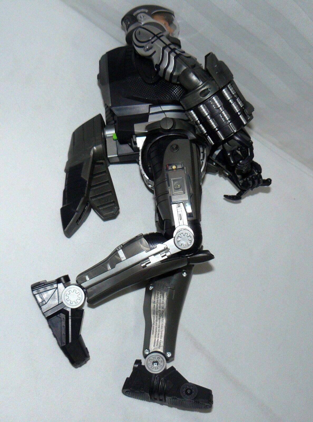 2009 hasbro robocop batteriebetriebene hand action - figur mit spielzeug.