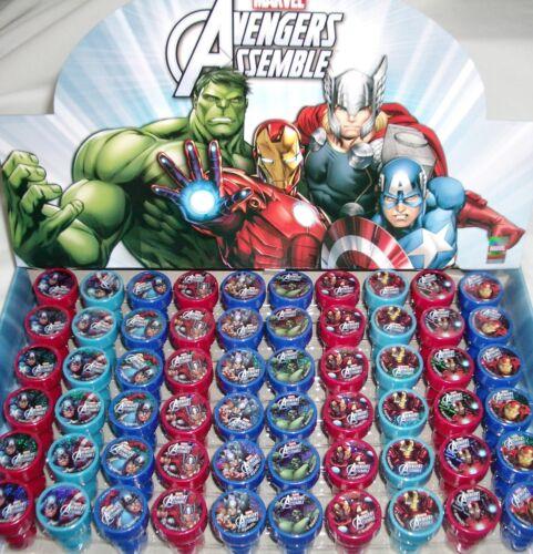 Marvel Avengers Self Inking Stamper Pencil Topper Child Party Favors Bag Fillers