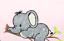 Elefant Namenskissen Kuschelkissen mit Name mit Inlet für Taufe Geburt Geschenk