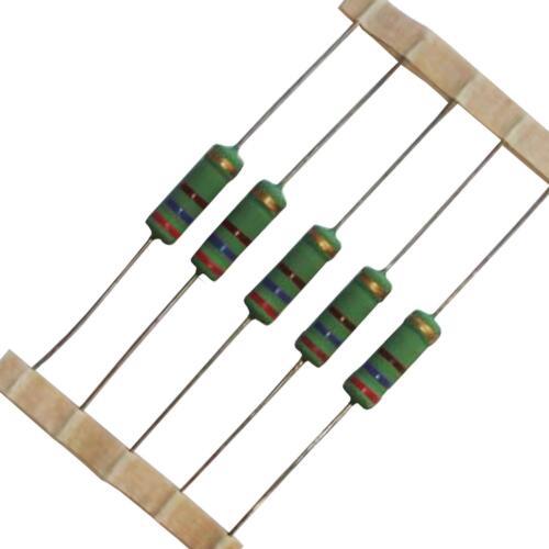 from £0.35//each 0.22-470 ohm Round 5W Wirewound Resistors