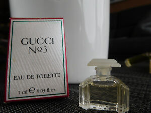 GUCCI No 3 EDT in BOX Duftminiatur (1 ml) Sammler Parfumminiatur VINTAGE - nideggen, Deutschland - GUCCI No 3 EDT in BOX Duftminiatur (1 ml) Sammler Parfumminiatur VINTAGE - nideggen, Deutschland