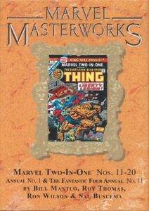 MARVEL MASTERWORKS # 249 MARVEL TWO-IN-ONE NEW Sealed The THING Hardcover