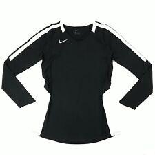 Nike Vapor Pro Long Sleeve Volleyball Jersey Women's Medium 915025 Black