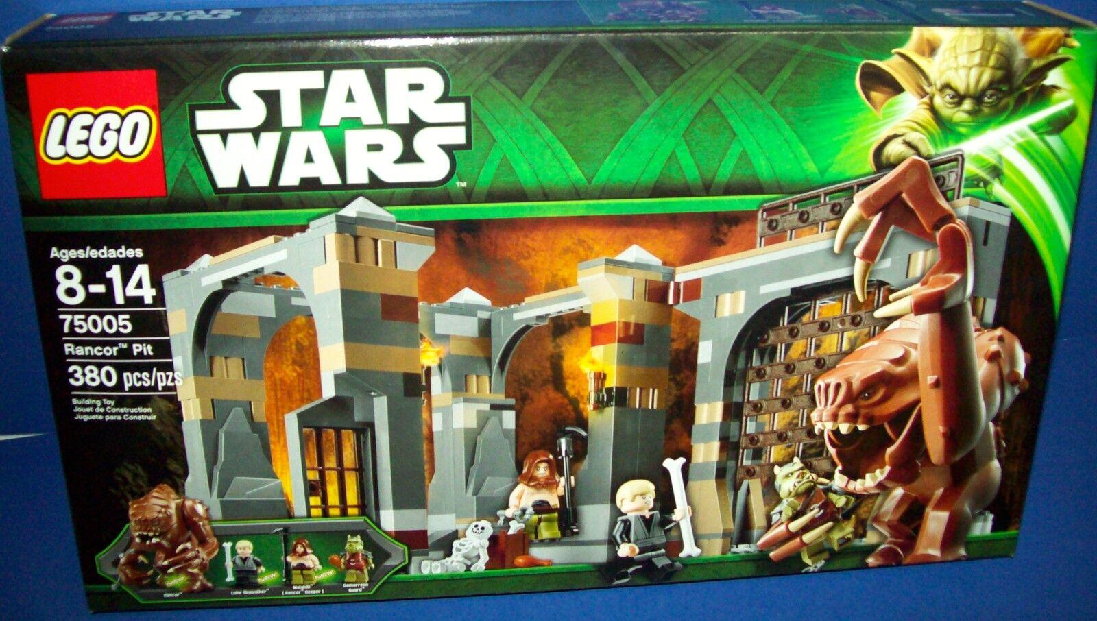 LEGO 75005 RANCOR PIT  STAR WARS NISB new HTF retiROT