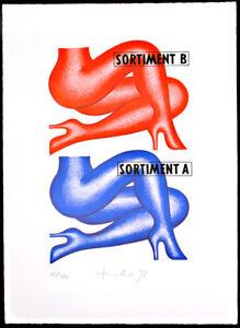 DDR-Kunst-Nachwendezeit-Sortiment-1998-Hans-TICHA-1940-D-handsigniert