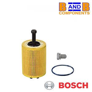 VW-AUDI-A3-A2-GOLF-MK4-MK5-MK6-OIL-FILTER-amp-SUMP-PLUG-BOSCH-P9192-A1500