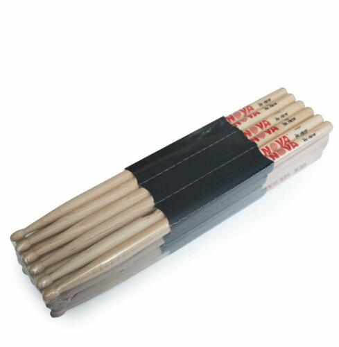 A brick 12Pairs Vic Firth Drum Sticks American Classic//Nova wood tips 5A 7A 5B