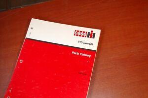 Details about CASE IH 710 FRONT LOADER Parts Manual Book catalog  International Harvester list