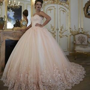 Image is loading Sleeveless-Corset-Bridal-Wedding-Dress-with-Glitter 1fcdbb66c554
