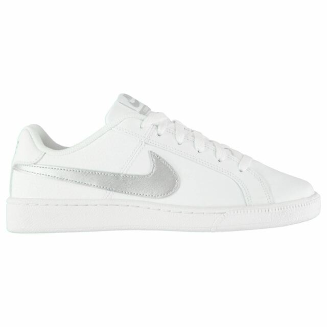 garrapata otro Rico  Nike Court Royale Trainers Womens White/Silver Sports trainers Sneakers for  sale online | eBay