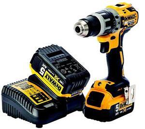 Dewalt Dcd796p2 Gb Brushless Xr Combi Drill 18v 2x5ah