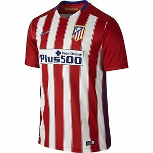 20886943b Image is loading 2015-2016-Atletico-Madrid-Home-Nike-Football-Shirt-