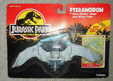 JURASSIC PARK  VINTAGE FIGURE PTERANODON  1993 carded dino trackers