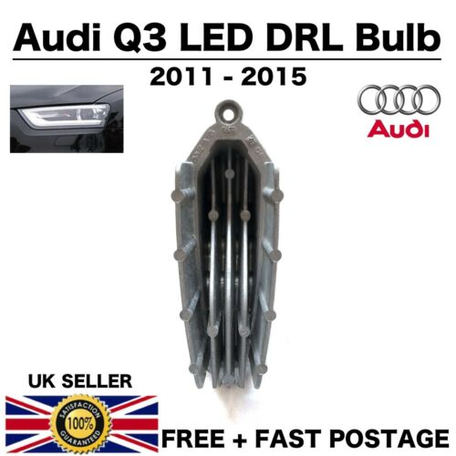 Genuine Audi Q3 Pre-FaceLift Headlight LED DRL Bulb Module Unit 8R 2011-2015