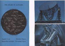 2 astronomy vintage 1965 bookprints constellation stars night sky - R Ayton
