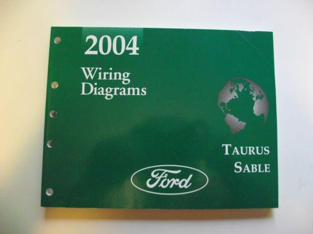 2004 Ford Taurus Mercury Sable Factory Wiring Diagrams