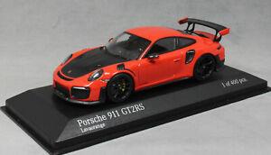Minichamps-Porsche-911-991-GEN-2-GT2RS-GT2-RS-en-Lava-Naranja-410067239-1-43-Nuevo