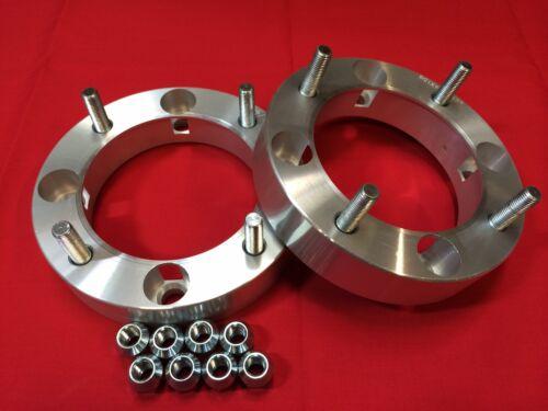 """4 WHEELS SPACERS 2/"""" install Polaris RZR 1000 wheels onto RZR 800s or 900xp"""