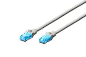 0-5m-Patchkabel-CAT5e-UTP-2-x-RJ45-LAN-DSL-Netzwerk