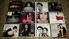 Anna Netrebko - Lot of 12 Opera / Classical Recital CDs