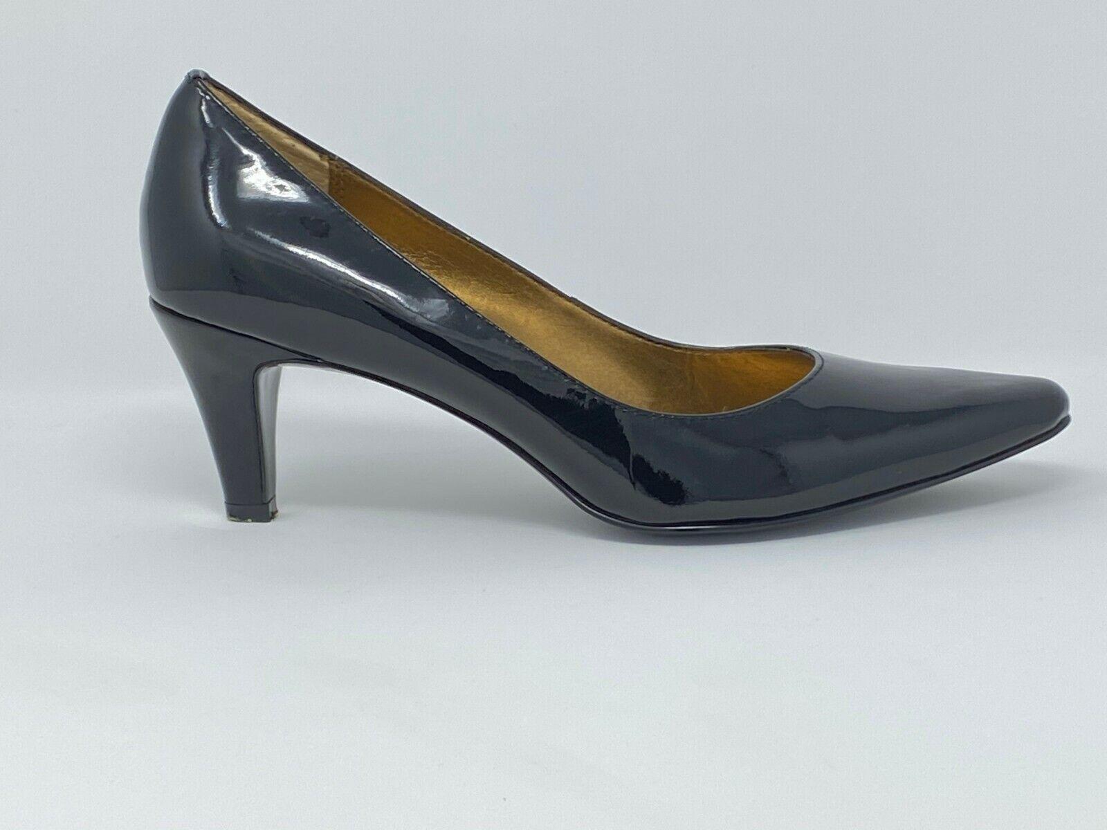 AK Anne Klein Women's High Heel Shoes Black Size 6 M Pointed Toe Pump Slip On