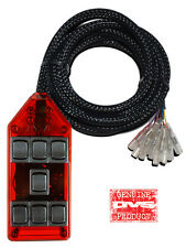 AVS ARC-7-RD Red 7 Switchbox Air Ride Suspension Bag Controller