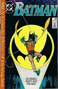 BATMAN-442-VF-NM-First-Tim-Drake-as-Robin-DC-Comics-Dec-1989