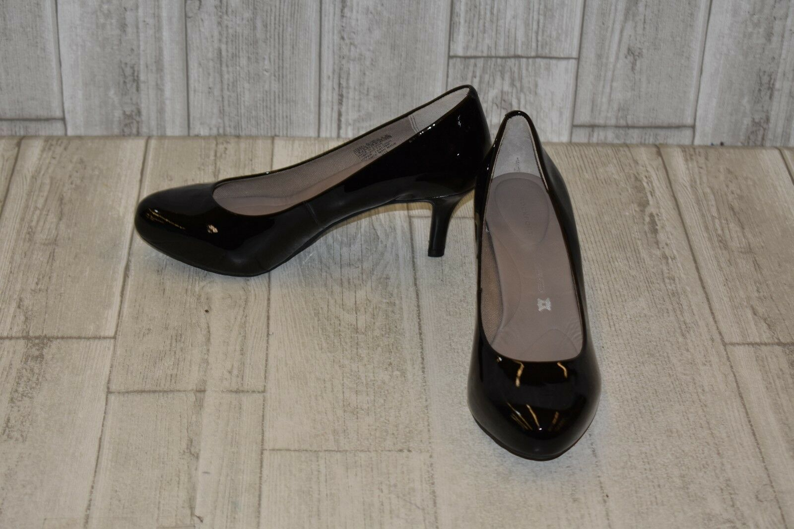 Rockport Seven to 7 Low Pump - Women's Size 8 W, Black