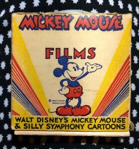 8MM-Film-Walt-Disneys-Mickey-Mouse-amp-Silly-Symphony-Cartoons-MICKEY-s-FLY-TRAP