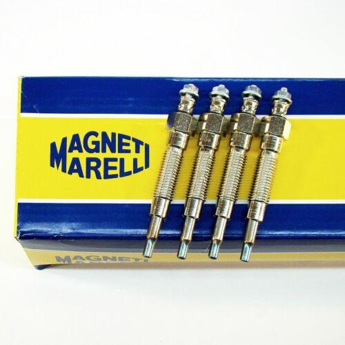 4x BOUGIE DE PRECHAUFFAGE MAGNETI MARELLI MITSUBISHI LANCER 2.0d PAJERO 2.5td 2.5tdi 2.5 TDiC