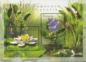 SJ-Aquatic-Plants-Of-Malaysia-2002-Flower-Nature-Pond-Flora-ms-MNH
